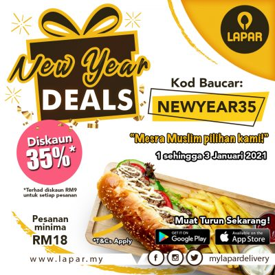 New Year Deal Campaign Website Banner