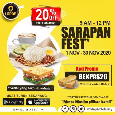 WEBSITE SARAPAN FEST